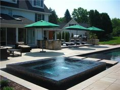 perimeter overflow pool designs | What is a Perimeter-Overflow ...