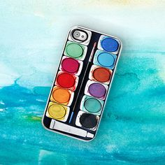 iPhone Case - Looks Like A Watercolor Paint Set !  By TheCuriousCaseLLC, $18.00