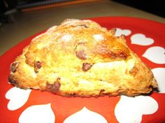 Gluten-Free Chocolate Chip Scones  moist and tender...gotta try this one!