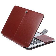 ULAK MacBook Pro 13 Retina Case, Premium PU Leather Sleev… Macbook Pro 13 Case, Macbook Air Pro, Retina Display, Pu Leather, Laptop, Stuff To Buy, Rome, Laptops