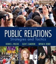 Public Relations: Strategies and Tactics (11th Edition) PDF