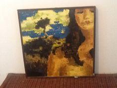 Πίνακας Αντωνέλλου χαρισμένο στη Δήμητρα προσωπογραφία !!!!αγαπημένος μου!!!,