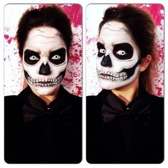 Skeleton by cynthiachevalier. Tag your pics with #Halloween and #SephoraSelfie on Sephora's Beauty Board for a chance to be featured!
