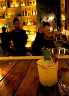 Cocktails at Gitano, a Mezcal Bar - Drink Local in Tulum