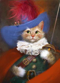 SUSAN HERBERT ~ d'Artagnan cat