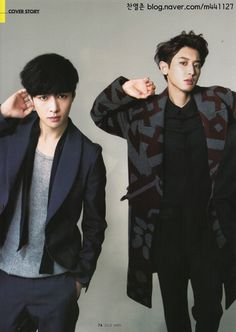 #Chanyeol #Lay #EXO - ELLE MEN HONGKONG No.13