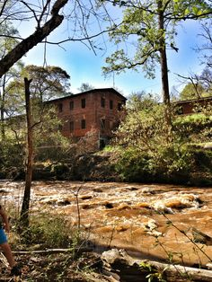 Just Off The Highway – Old Mill Park in Roswell GA