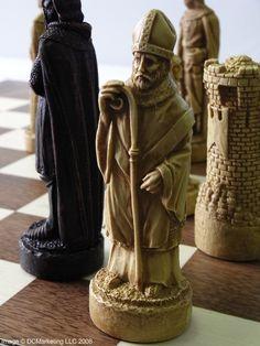 Battle of Bannockburn Plain Theme Chess Set