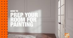 If youre looking to start a painting project refresh your paint knowledge. In this DIY Digital Workshop well show you how to prep your room for painting. Tap to shop this project. Home Improvement Projects, Home Projects, Home Repairs, Trendy Home, Home Hacks, Room Paint, Bars For Home, House Painting, Home Renovation