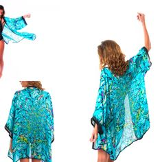 Be in with a chance to win this luxurious silk kimono in time for Summer!   Simply sign up and get a friend to as well, go to:
