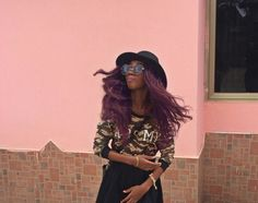 Hair flip ...hahaha