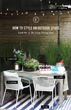 How to create a cozy and complete outdoor space