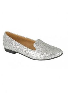 Silver Sequin Loafers,  Shoes, sequin shoes  loafers  slippers, Chic