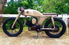 1972 Yamaha YL2 Motorbike - After