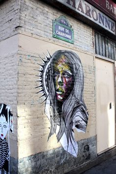 Hopare is a Franch urban artist whose graffiti of faces and human figures come together in an explosion of color and details. 3d Art, Public Art, Amazing Art, Art Projects, Illustration Art, Art, Life Art, Graffiti Art, Street Art Graffiti