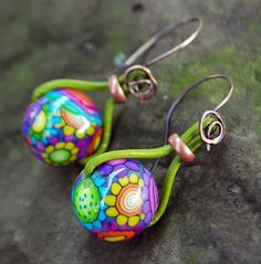 Beautiful color!  From Earrings Everyday