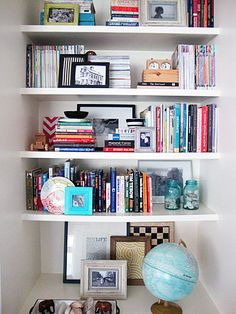 Bookshelf Styling Tips from Libbie Grove Design