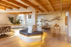 Country style living room by pedro quintela studio