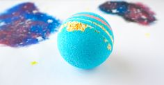 In a galaxy far far away planets orbit and stars shine bright. Meanwhile, in your bathroom, you're taking a nice relaxing bath with your galaxy bath bomb. Watch the video…