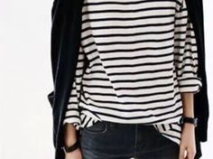 black and stripes
