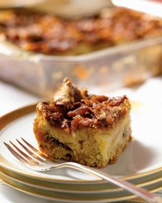 Passover Dessert Recipes | Martha Stewart Living - The quintessential Passover dessert is, of course, apple cake. This version calls for ginger, mace, cinnamon, and nutmeg, but you can mix and match spices according to your taste.