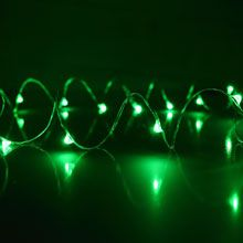 Wire / DIY / Craft / Hanging / String Lights / Green Starry Fairy Dewdrop String Lights LI-1004-GR Battery Operated Lights, Battery Lights, Led Party Lights, String Lights, Sphere Light, Amazing Pics, Globe Lights, Paper Lanterns, Light Shades