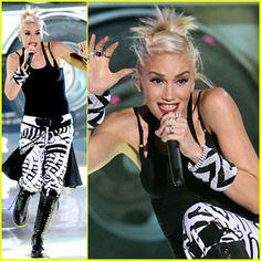 Gwen Stefani en uno de sus más recientes shots.