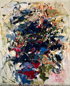 "Joan Mitchel.Untitled, 1960.Oil on canvas,248.9 x 203.8cm / 98 x 801/4""."
