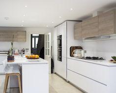 ALNOFINE customer kitchen by ALNO retailer Linear London.