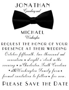 Printable Save the Date! You send us your information, we put it in, and send you a finished file. You print it, mail it, and send it off