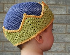 crochet hat crown
