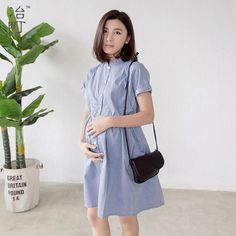 670ff451b63dd Hot sale korean style beautiful long lady maternity party one-piece formal  summer dresses for pregnant women