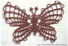 Mariposas en Crochet   Tejidos a Crochet