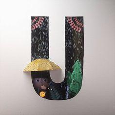 Magnifiques lettres de typographie de l'alphabet par Luke Doyle - #Olybop