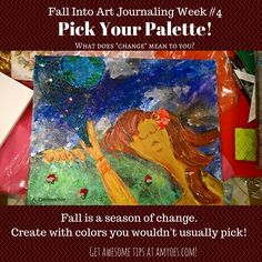How to Fall in Change: Art Journaling Week exciting updates~! What Does Change Mean, Balance Art, Happy Monday, Art Journals, Acrylics, Special Events, Journaling, Celebration, Doodles