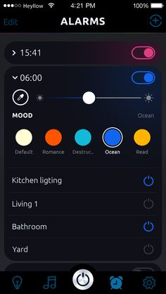 Svet iOS app - Wireless lighting