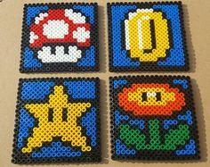 Super Mario Bros. inspirierte Untersetzer