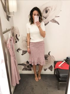 ideas womens business attire professional ann taylor for 2019 Loft Outfits, Adrette Outfits, Preppy Outfits, Office Outfits, Modest Outfits, Skirt Outfits, Fashion Outfits, Office Wear, Casual Office