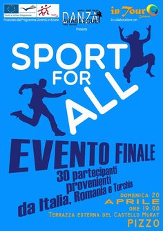 14th-20th Apr 2014 - Vibo Valentia Marina, Italy. Sport for All. Youth Exchange