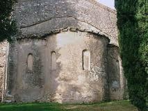 Abside della chiesa di San Pietro a Mavinas, Sirmione.