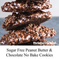 Sugar Free Deserts, Sugar Free Snacks, Sugar Free Jello, Sugar Free Peanut Butter, Sugar Free Baking, Sugar Free Sweets, Sugar Free Cookies, Sugar Free Recipes, Sugar Free Food List