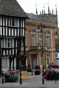 Evesham, The Cotswolds, Worcestershire, England, UK