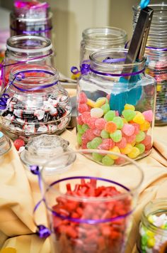 More candy bar ideas