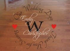 Dance Floor Decal 36x38 Top Quality Removable by 3GCustomGraphics, $45.00