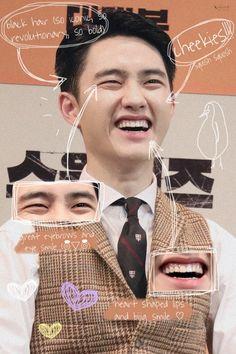 """the anatomy of do kyungsoo ( ⌾ຶັ໋ົ♡⌾ຶັ໋ົ )"" Kyungsoo, Chanyeol, D O Exo, Exo Do, Exo Ot12, Kaisoo, Exo Album, Exo Lockscreen, Korean Boy"