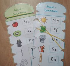 Übungsmaterial Anlaute You are in the right place about Montessori Activities kindergarten Here we o Montessori Education, Montessori Activities, Montessori Materials, Infancy, How To Make Light, Toddler Preschool, Toddler Toys, Baby Toys, More Fun