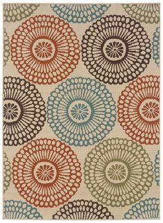 Oriental Weavers Sphinx Montego Ivory Multi Rug