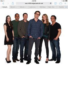 The crew of the bobby bones show
