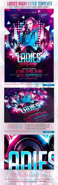 Music Fest Flyer Template Music fest, Flyer template and Template - party brochure template