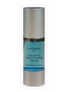 Hyaluron Effect Power Serum 30 ml Dieses Power Serum enthält 6 verschiedene Hyaluronarten, die alle Hautschichten durchfeuchten.  Auffrischung der natürlichen Hyaluronvorräte der Haut. In kurzer Zeit wirkt die Haut frischer und jugendlicher. Das Serum enthält sechs verschiedene Hyaluronverbindungen, die sämtliche Hautschichten mit Hyaluron durchfeuchten, erfrischen und praller erscheinen lassen. Natürliche Steinextrakte schützen das wertvolle Hyaluron und sorgen für den blauen Farbton des…